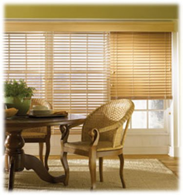 Wood Blinds, Composite Blinds, and Faux Wood Blinds