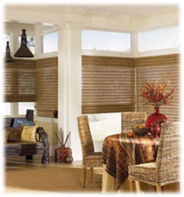 Woven Wood Shades or Natural Shades